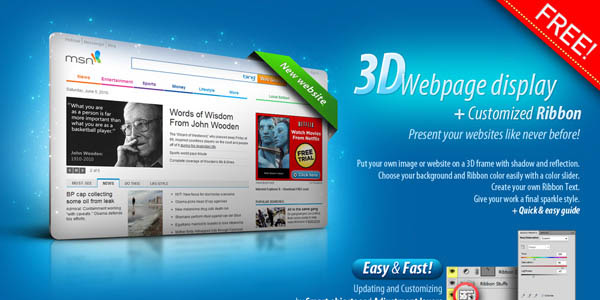 110 Free Psd Web Design Elements Pixel Curse